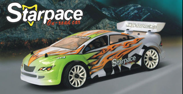 1/16th Starpace Scale Nitro On-Road Racing Car