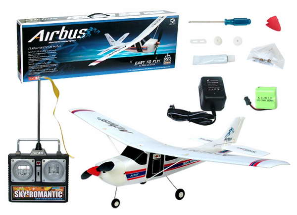 Aairplane Airbus with remote control