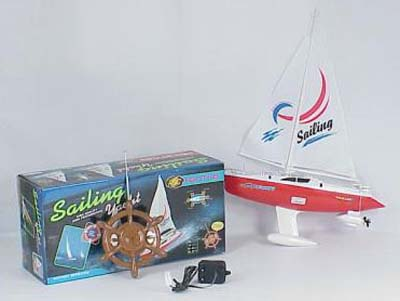3688A Small Sailing Yacht RC Boat