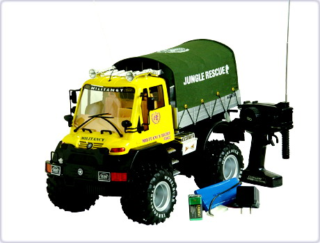 CAMION JUNGLE RESCUE
