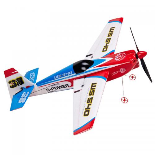 Avion Suhoi Edge 540 Red Bull cu radiocomanda 2,4 Ghz