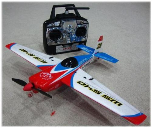 Avion Edge 540 Red Bull 2,4 Ghz