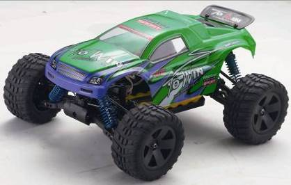 Truggy RC Gust VH-EPH16  RTR with electric engine scale 1:16