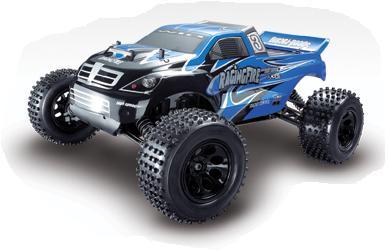 Monster Truck Nitro RC Huan Qi 713  scale 1:10
