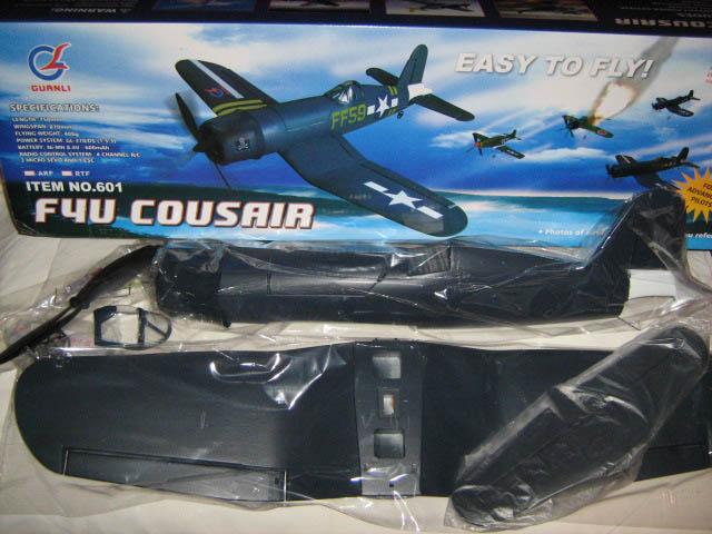 Kit Polistiren F4U coaja avion