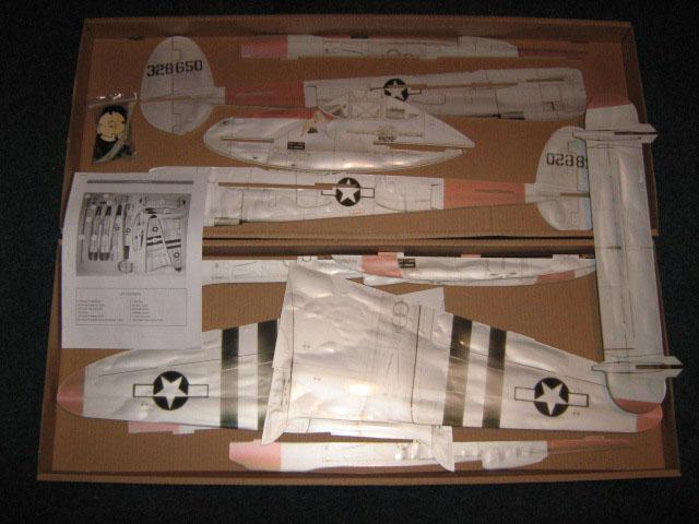 Kit P38 coaja avion