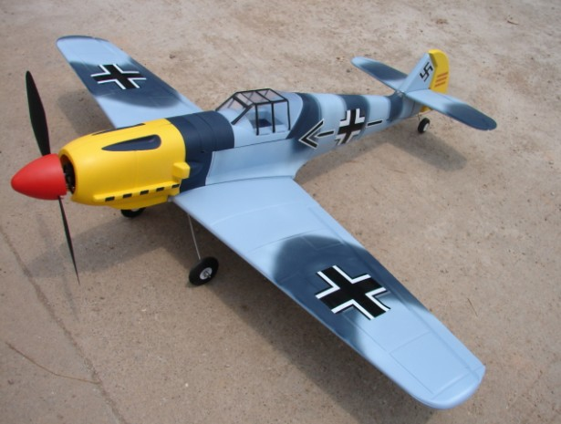 Airplane MESSERSCHMITT ME-109 with remote control