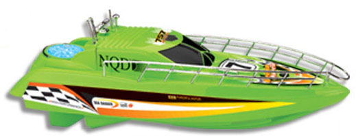 Boat Speed Boat Yacht 4014 scale 1:38