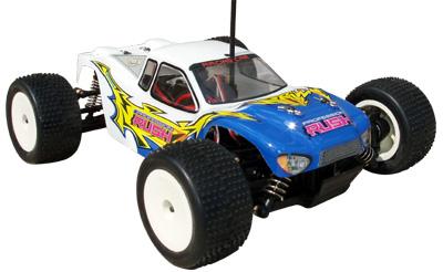 Truggy Racing Truck Electric 1:18 RTR cu motor electric si radiocomanda