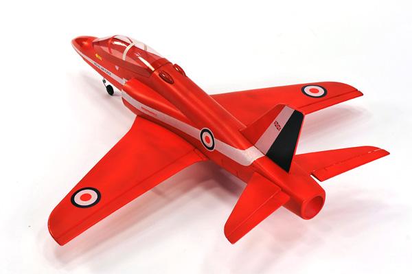 TW 750 EPO Red Arrow rc Jet  with remote control 2.4 GHz