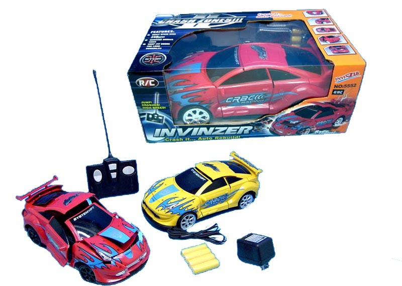 MASINA  CRASH CAR INVINZER MIC